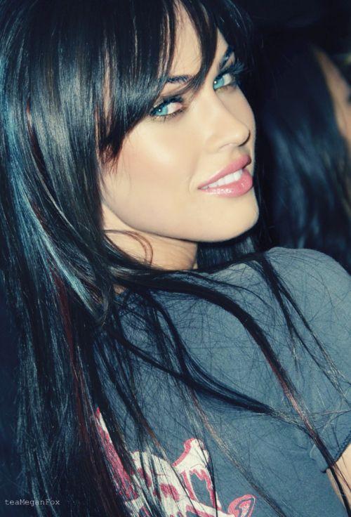 Megan Fox - love the hair and makeup