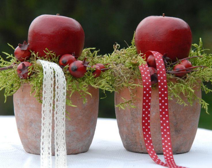 Dekorace s jablíčky