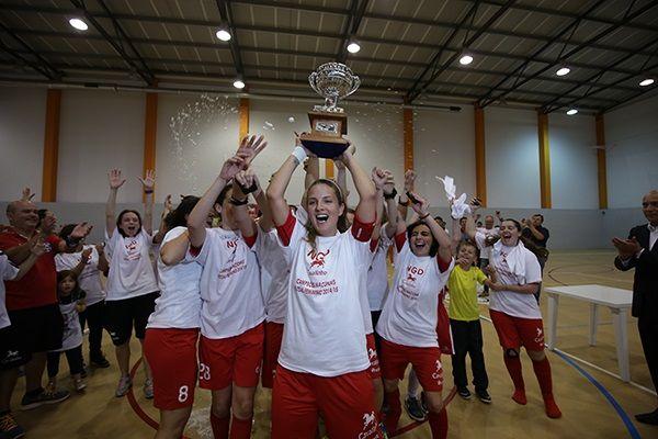 Futsal Fem.: Novasemente é campeão nacional | Federação Portuguesa de Futebol