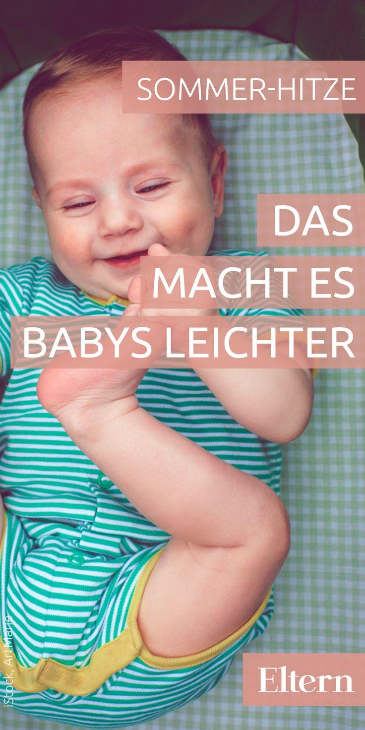 So kommen Babys mit der Hitze klar – ELTERN online