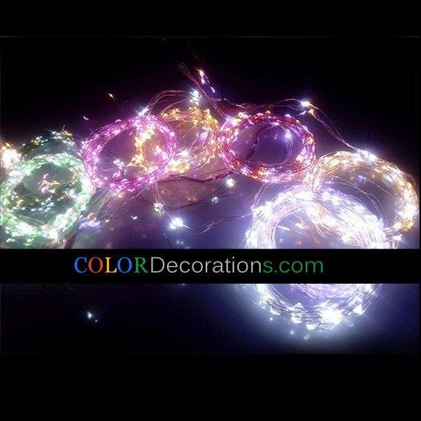 cddl102 led copper lights christmas rope decorative string lights led decorative lights - Decorative String Lights