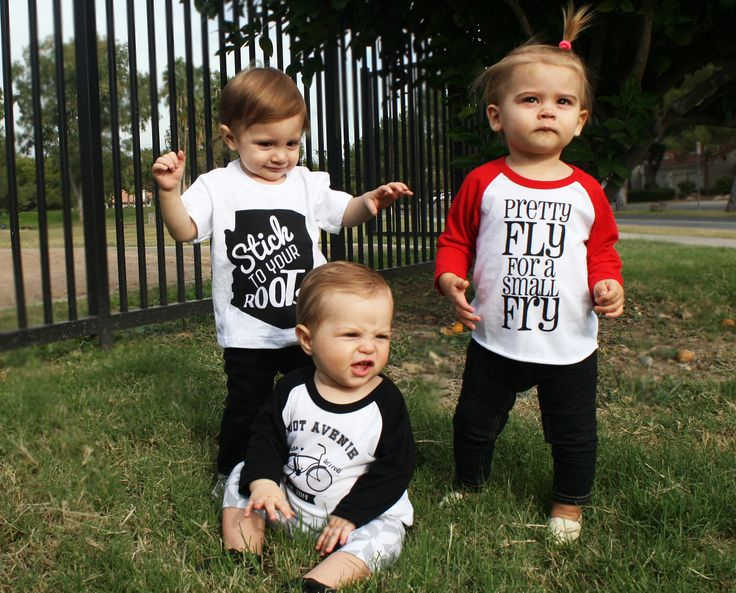 Cool kids baby infant & toddler screen printed tshirts! rootavenue.com