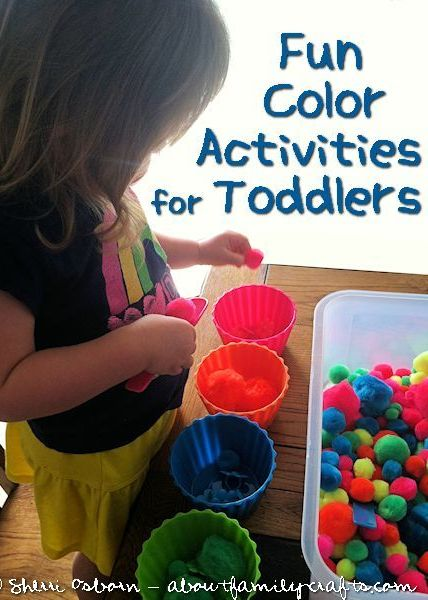 CLASS OF MANY COLORS SUNDAY : TODDLER ACTIVITIES - Lots of color