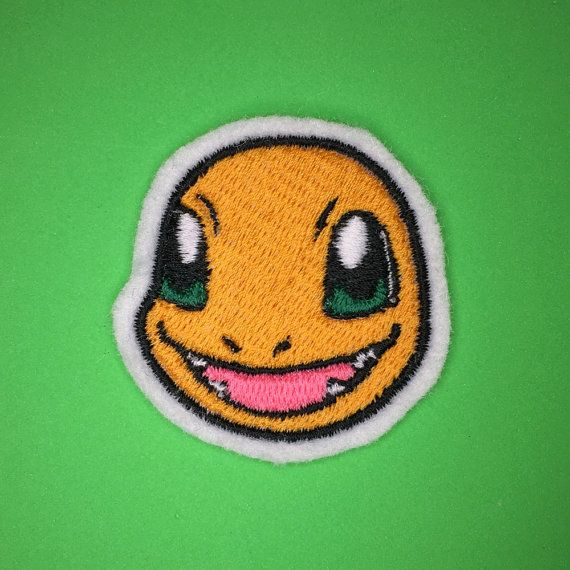 Make sure you can train Charmander!  A premium patch embroidered with vivid…