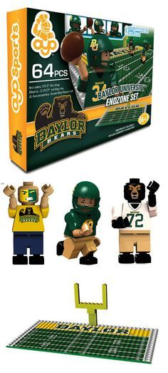 Definitely get this kids -- basically Baylor Football Legos!
