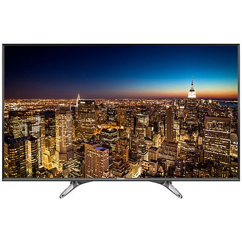 """Buy Panasonic Viera 49DX600B LED 4K Ultra HD Smart TV, 49"""" With Freeview Play, Built-In Wi-Fi & Art Of Interior Tailored Design Online at johnlewis.com"""