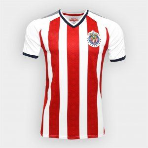 Chivas 2017-18 Season Home Liga MX Shirt Jersey [K752]