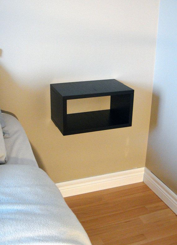 Floating Nightstand Floating Shelf floating by NygaardDesign, $65.00 etsy  \