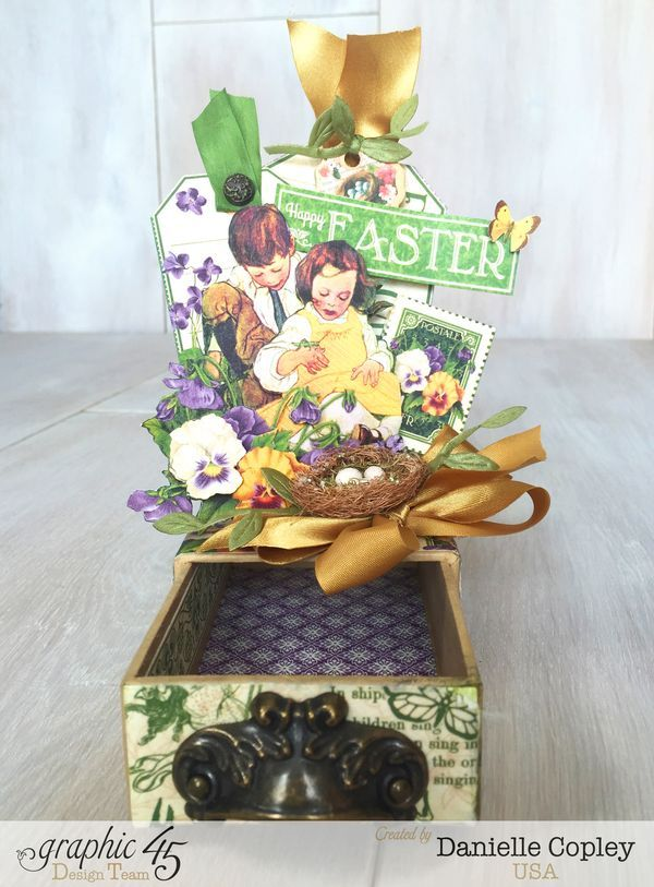 175 best hoppy easter images on pinterest graphic 45 hoppy may arts hop easter gift box childrens hour danielle copley graphic 45 negle Image collections