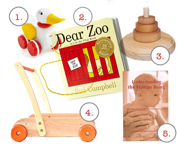 Montessori-inspired favourite things for an 11-month old