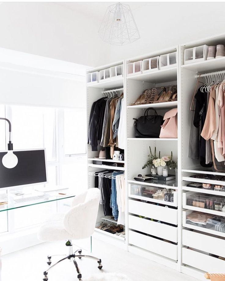 Ikea Closet Design Ideas ikea closet system Organized And Functional Work And Wardrobe Space Naina Singla