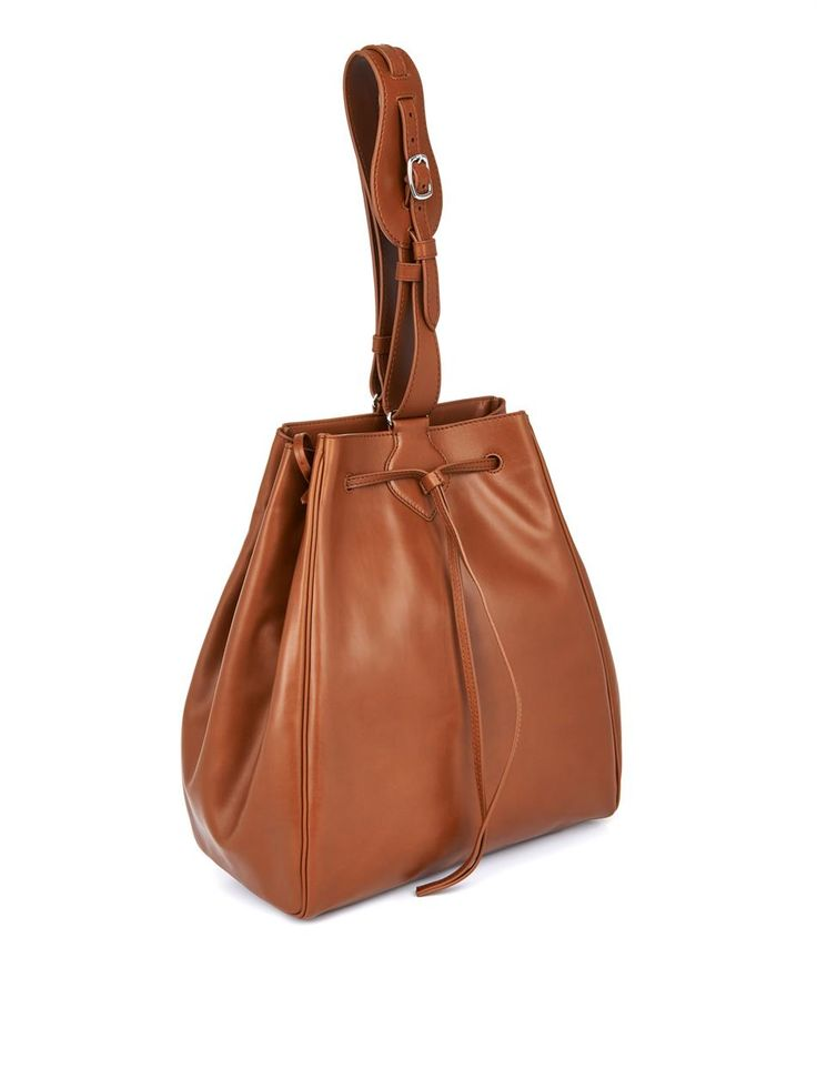 Myriam Schaefer Dino leather bucket bag