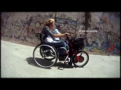 BATEC ELECTRIC - Batec Mobility - Handbikes acoplables para silla de ruedas: acoples para silla de ruedas, propulsores para silla de ruedas, handbikes eléctricos, manuales e híbridos para personas con discapacidad