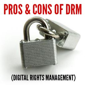 Do you use DRM on your Kindle eBooks?  Here are some pros/cons on the issue in my guest post on The Future of Ink http://thefutureofink.com/pros-and-cons-of-drm