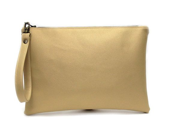 Hey, I found this really awesome Etsy listing at https://www.etsy.com/listing/230676644/gold-metallic-wristlet-vegan-leather
