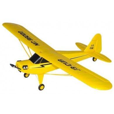 Model J3 CUB to produkt firmy Joysway, samolot posiada skrzydła o rozpiętości 950mm. Wykonano go z wytrzymałej pianki EPO, dzięki czemu wytrzyma wiele upadków i szybko go nie uszkodzimy. Opis, dane techniczne, komentarze oraz film Video znajdziesz na naszej stronie, nie ma jeszcze komentarzy, to czemu nie zostawisz swojego:)