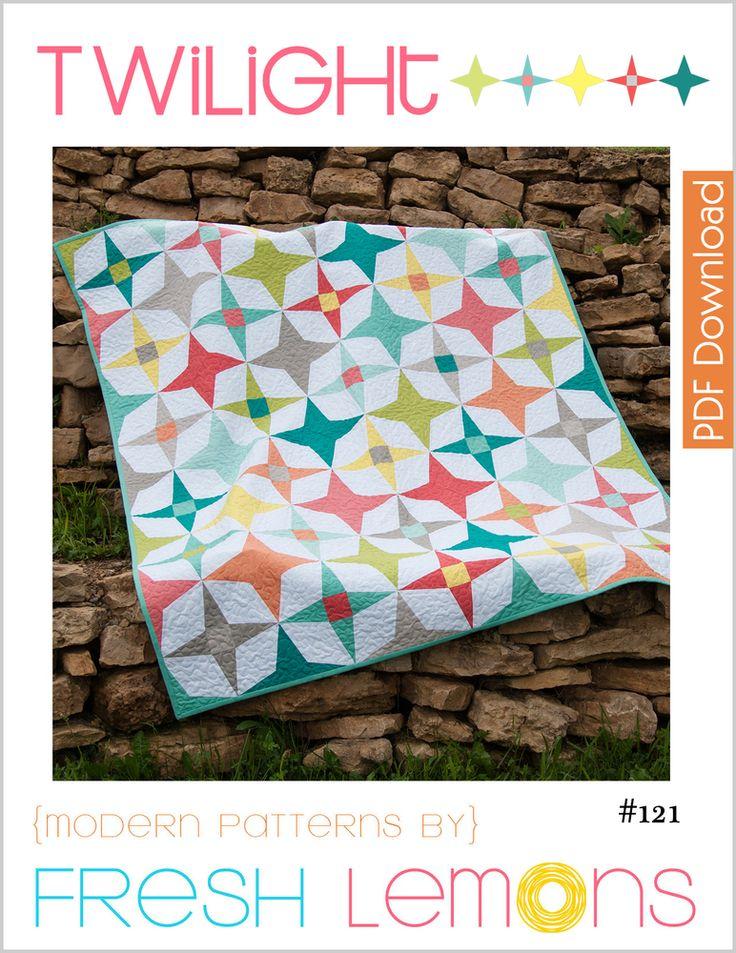 Image of Twilight Quilt Pattern - PDF