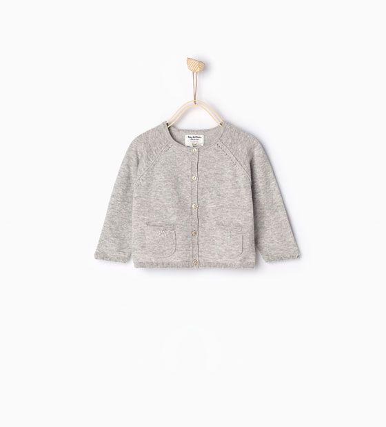 ZARA - COLLECTIE SS16 - Basic tricot vest