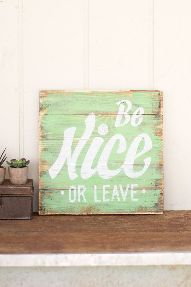 The home front porches porch signs wooden animal signs wooden signs - Post This Painted Wooden Sign At Your Front Door On Back Porch As A Quirky Reminder