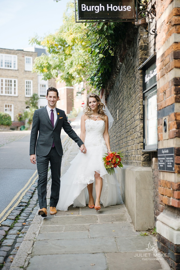 Hampstead-weddings at Burgh House