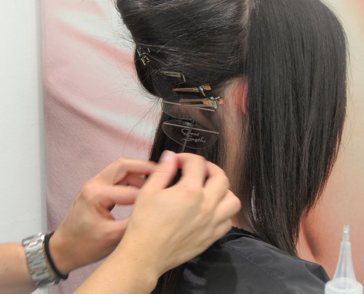Hair extensions Great Lengths at #ericzemmourmonacoII