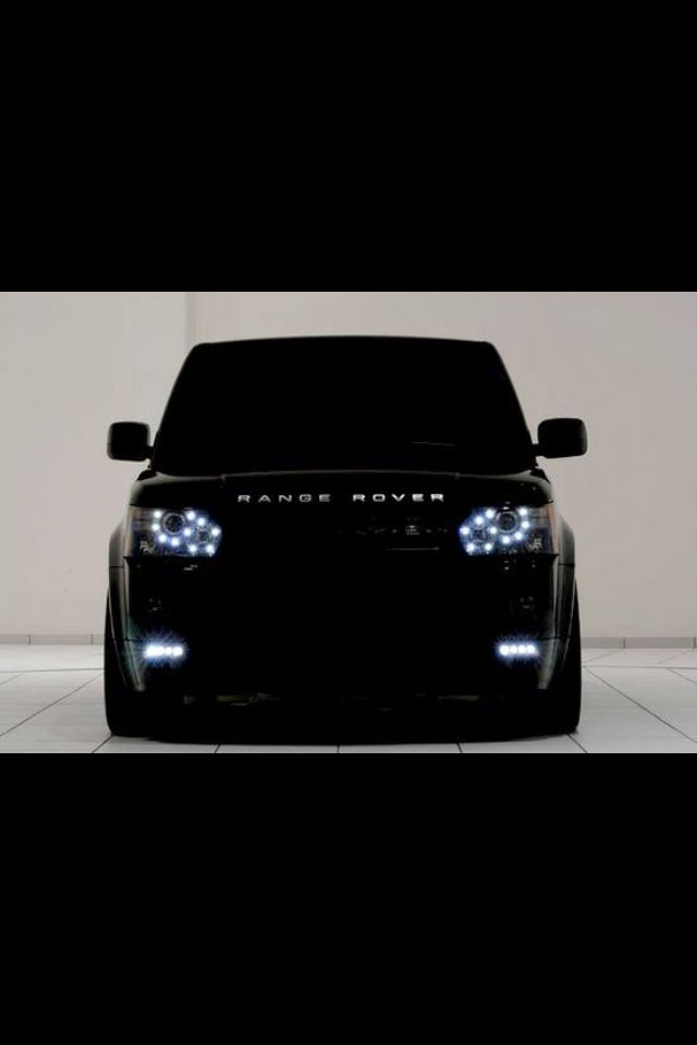Blacked out Range Rover  Cars  Pinterest  Range rovers and Ranges