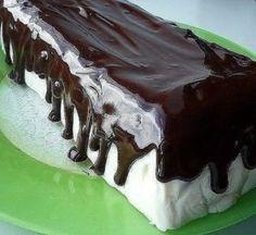 Торт без выпечки «Полосатый»