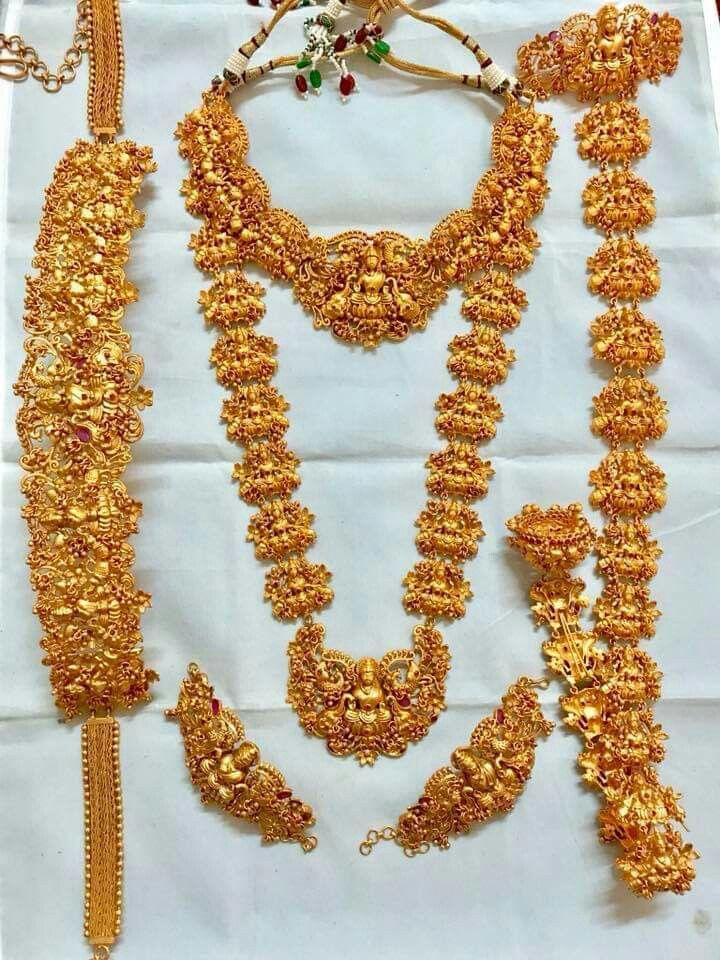 Nagas Bridal Jewellery Temple Bridal Jewellery Bridal Gold Jewellery Bridal Jewelry Wedding Jewellery Designs