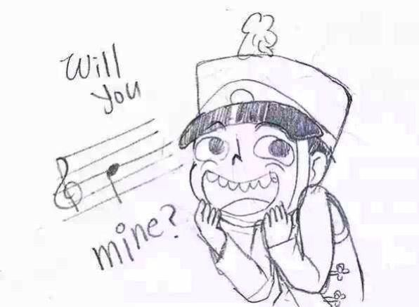 Marching band. DYING cute will you be mine?