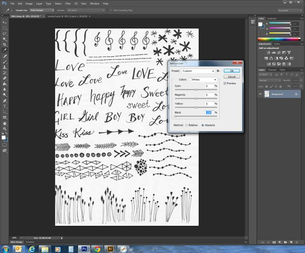This simple tutorial shows you how to convert your own sketches and doodles into digital vector art or clipart. Think of all the possibilities!