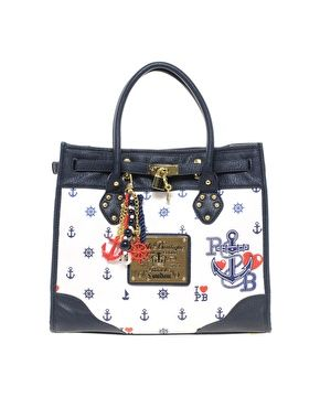 Paul's Boutique Olivia Anchor Bag-Not only do I love the bag, but it has my fiance's initials on it!