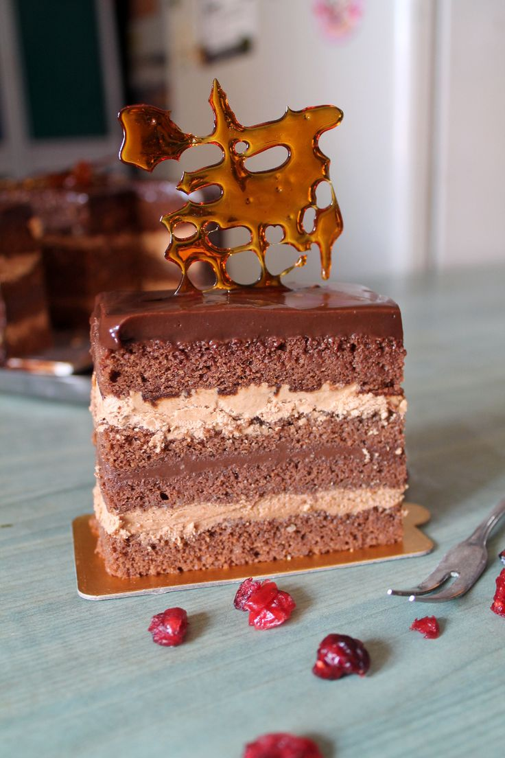 Hazelnut Opera Cake Chocolate Dessert Recipes