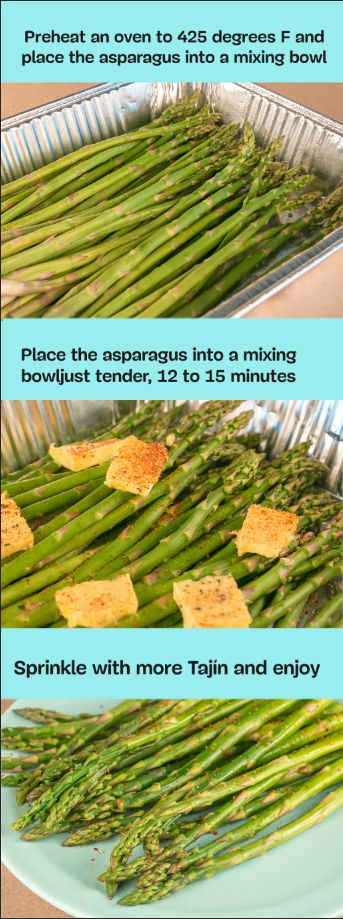 Enjoy Asparagus season before it's gone! #TajinHacks  www.tajin.com