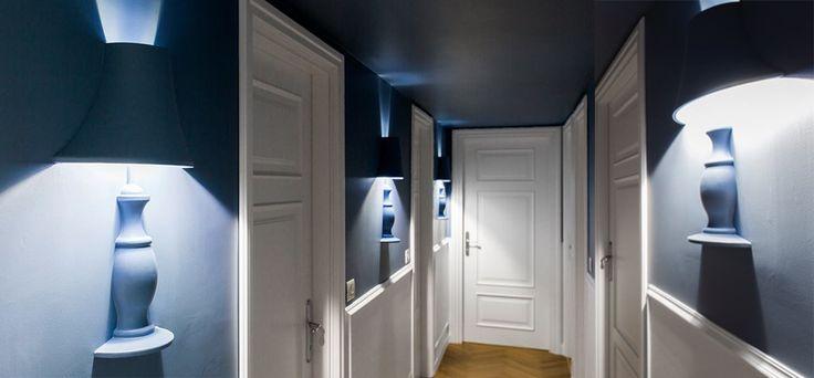 *Glamp una lampada che nasce anche come oggetto non finito, pronto a ricevere finiture di ogni tipo. www.bragliacontract.com