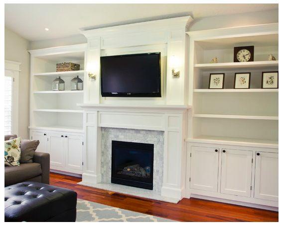 Pin de jose antonio ruiz en salones chimeneas y tv pinterest hogar muebles salon y mueble - Chimeneas para salones ...