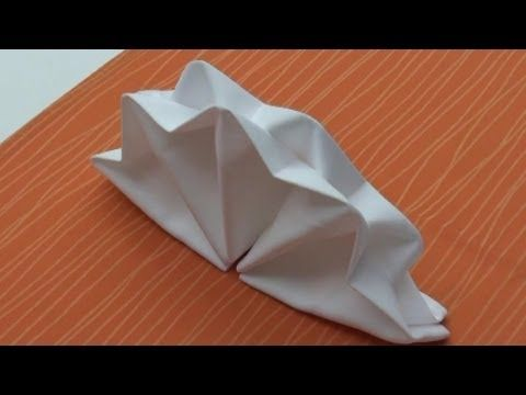 Stoffservietten falten leicht gemacht Faltanleitung für Tischdeko (HD)