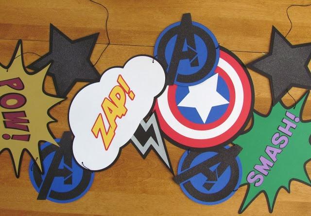 Avengers Party Jacks Superhero Party Superhero