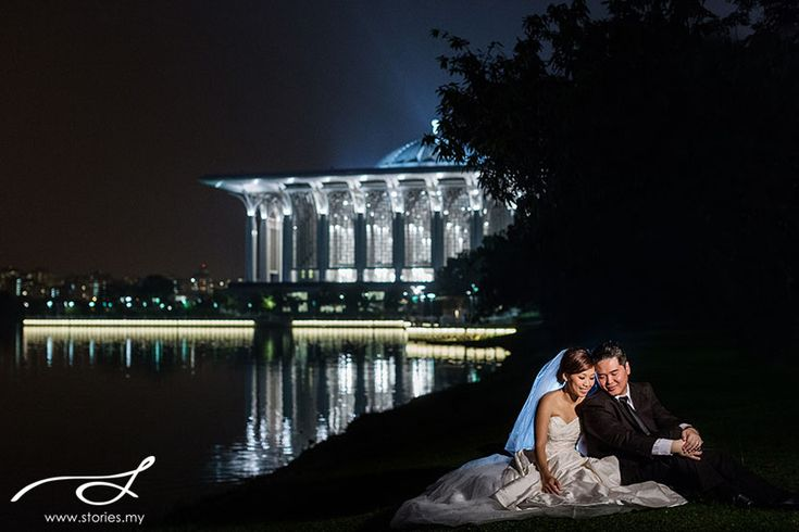 night pre wedding shoot putrajaya - Google Search