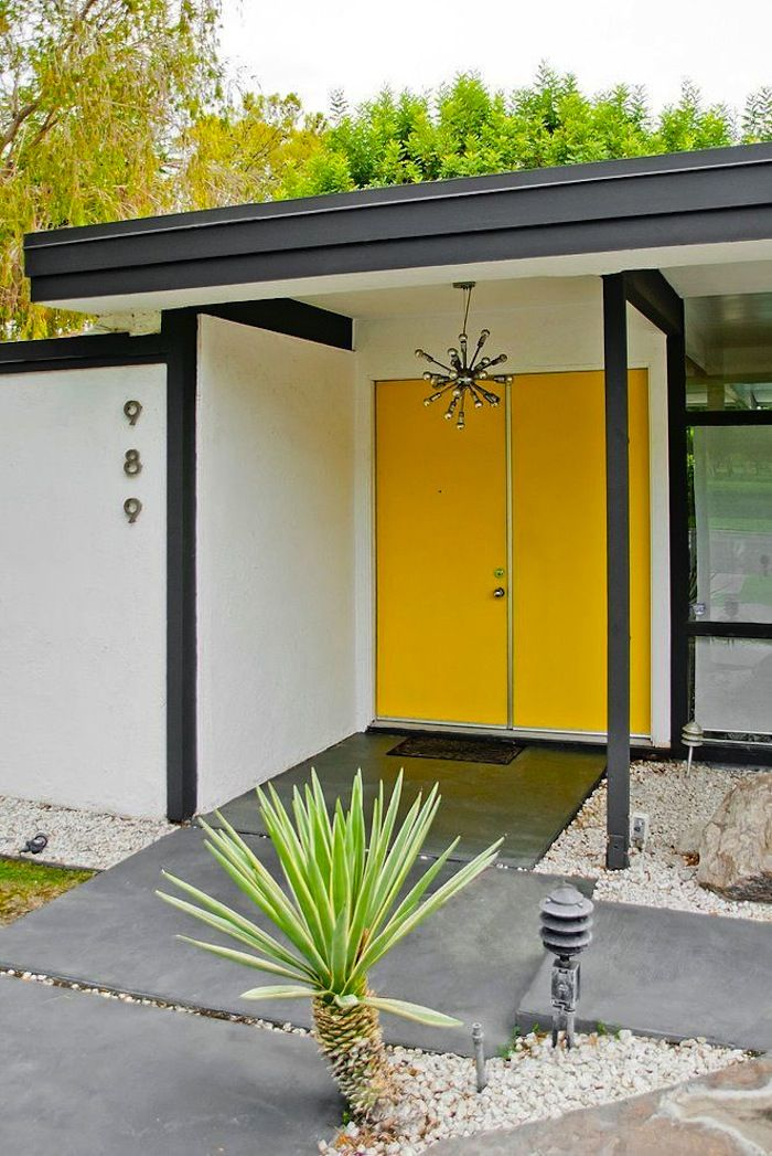 85 best mid century modern houses images on pinterest - Mid century modern exterior doors ...