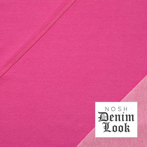 Denim Look Jersey, Pink