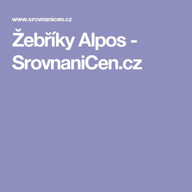 Žebříky Alpos - SrovnaniCen.cz