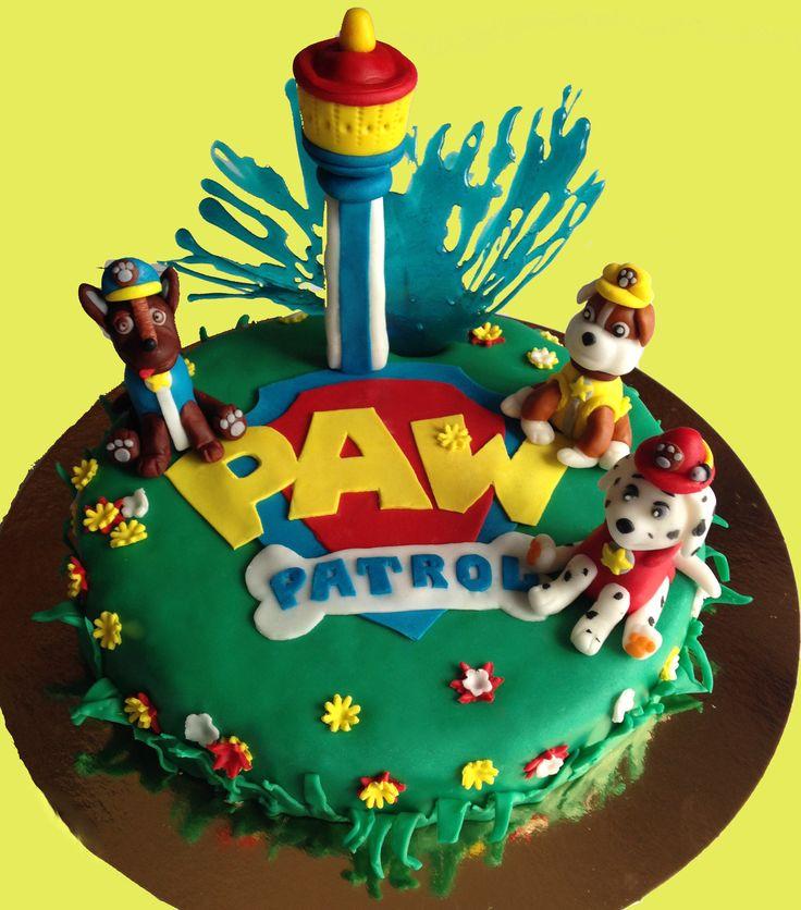 Торт полицейский патруль