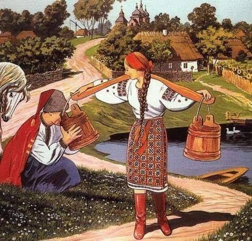 Nese Halya vodu, Ukraine ,from Iryna