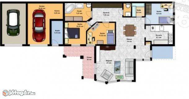 100 nm-es ház eladó Kecskemét #673467, 1. image