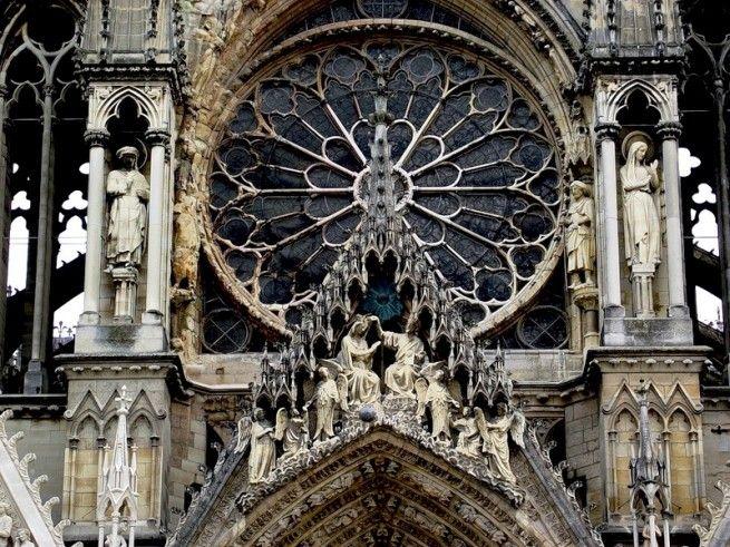 francia gótikus katedrális rózsaablak - Google keresés