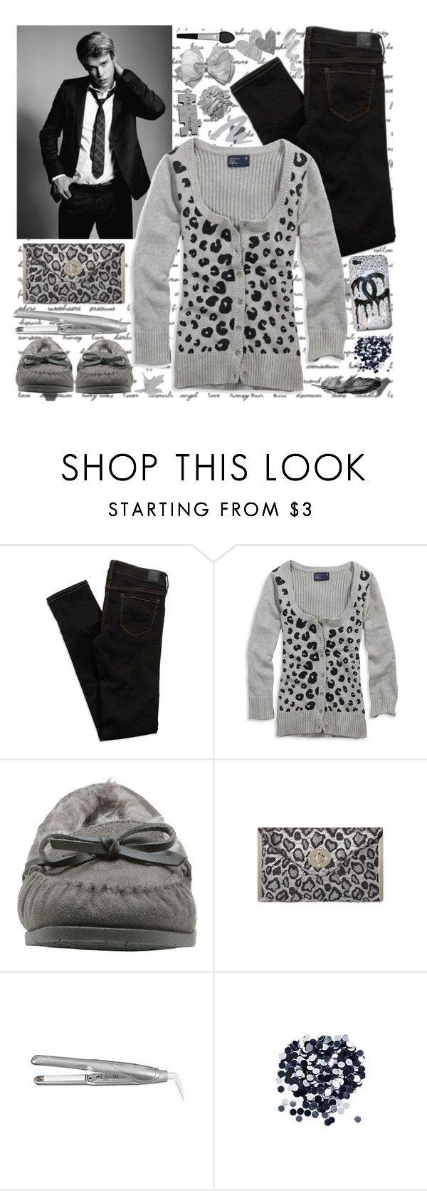 """""""hello, cadeau♥"""" by alisonwonderland ❤ liked on Polyvore featuring American Eagle Outfitters, Melissa, Lauren Conrad, Sultra, CO, Aerie and Sephora Collection"""