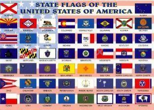 50 us state flags