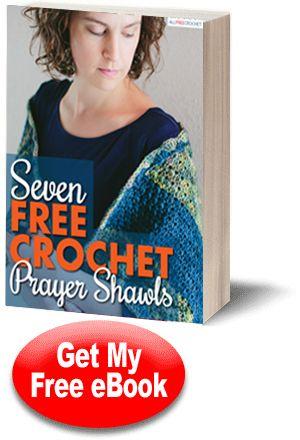 7 gratis chales de oración ganchillo