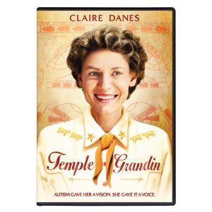 A wonderful movie that's essentially about a girl named Temple Grandin (played by Claire Danes), born in 1947 and who, by the age of 4, still wasn't talking.  She was eventually diagnosed with autism, and it was recommended that she be institutionalized.  Temple's mom never accepted the medical experts advice and, instead, she did everything in her power to teach her daughter to speak.