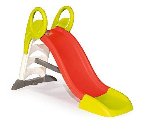 """Smoby – 310262 – Toboggan KS: KS, un nouveau toboggan """"fun"""" avec 1 glisse d'une longueur de 150cm Robuste et stable, son échelle soufflée…"""